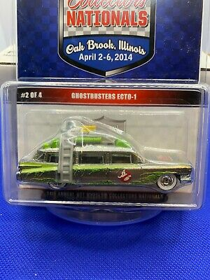 Hot Wheels  Hot Wheels 14th National Conv. Ghostbusters Ecto-1  1667/2600 • 72.35£