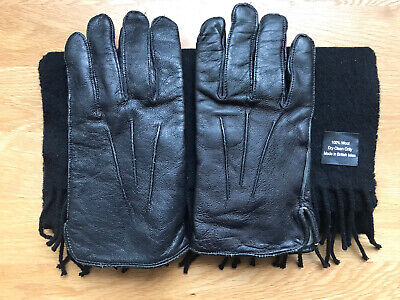HM Prison Service HMP Uniform Gloves & Scarf Vintage Used Items Good Condition • 14.95£