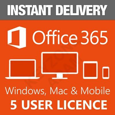AU6.29 • Buy ✅🔥MICROSOFT365 OFFICE✅🔥LIFETIME✅ACCOUNT✅FOR 5✅DEVICES✅🔥ANDROID✅PC&Mac✅5000GB