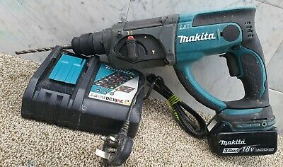 Makita 18v Lxt Sds Three Mode Hammer Drill +3ah Battery  • 114.99£