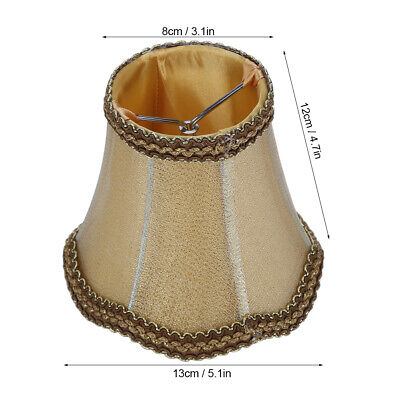 £22.29 • Buy Fabrics Lampshade Chandelier Lamp Cover European‑Style No Metal For Bedroom Hall