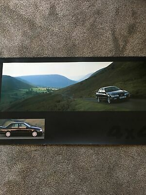 £25 • Buy Ford Sierra Sapphire RS Cosworth 4 X 4 Showroom Poster Rallye Sport Superb 83x46