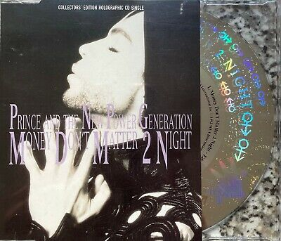 Prince - Money Don't Matter Tonight (Collectors Edition Holographic CD Single) • 2.99£