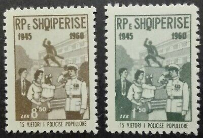 $ CDN3.96 • Buy ALBANIA-SHQIPERISE STAMPS MNH - The Police Department, 1960, **