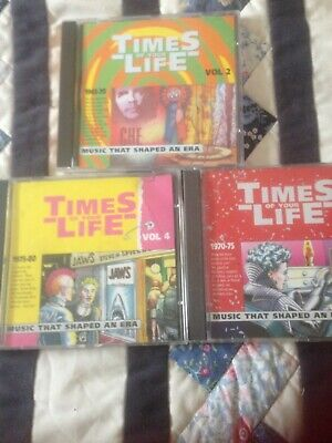 Times Of Your Life , Cds X3 Albums ( Various Artists ) Please Read Below • 1.55£