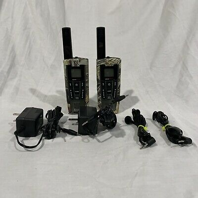 $ CDN70.89 • Buy 2 Cobra LI-7200 27 Mile Long Range 2 Way Radio Walkie Talkie Charger Camo READ!