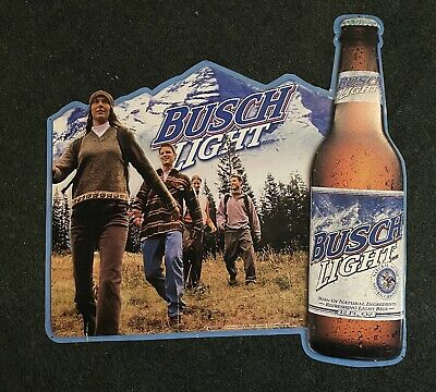 $ CDN88.61 • Buy BUSCH LIGHT BEER Tin Metal SIGN Hiking Great Outdoors Budweiser Mountains