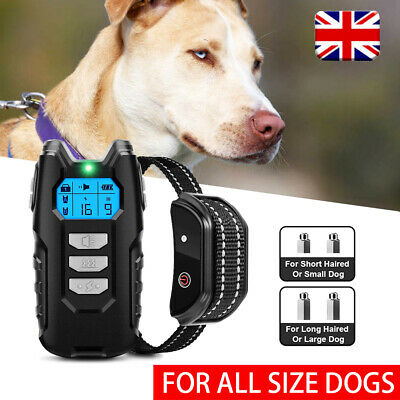 £25.99 • Buy Electric Pet Dog Training  Collar Shock Anti-Bark Electronic Remote Rechargeable