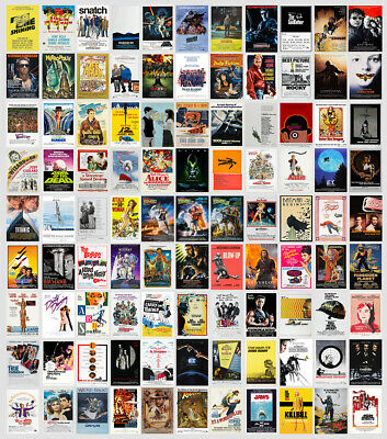 £2.97 • Buy Classic Movie Film Posters Poster Prints A4 - A3 Prints 280gsm Paper/Card