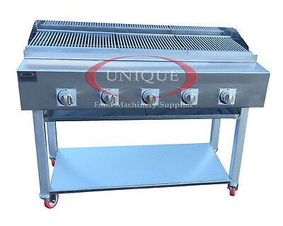 £1199 • Buy 5 Burner Gas Charcoal Bbq Grill / Char-grill Heavy Duty For Commercial Use