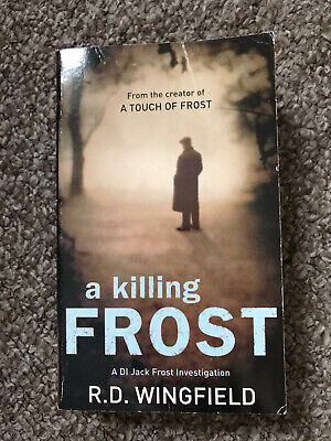 A Killing Frost  By R.d Wingfield Paperback Book • 0.99£