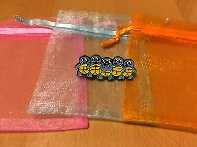 £3.50 • Buy Pokemon Squirtle Squad Pin Badge With Jewellery Bag