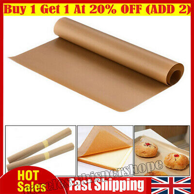 Kitchen Silicone Baking Sheet Work Mat Oven Tray Liner Pastry Pizza Non Stick UK • 4.39£