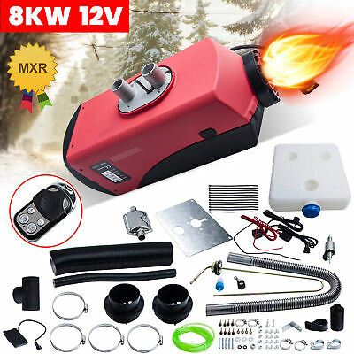 AU157.70 • Buy 8KW 12V Air Heater Diesel Heater LCD Remote Control Thermostat RV Truck