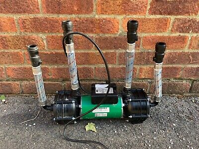 £70 • Buy Salamander RSP100 Twin Centrifugal Shower Pump 3.0 Bar For Spares Or Repairs