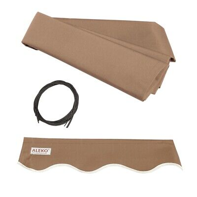 $ CDN114.62 • Buy ALEKO Fabric Replacement For 20x10 Ft Retractable Awning Sand Color