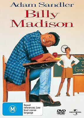AU9.99 • Buy Billy Madison : Adam Sandler : NEW DVD
