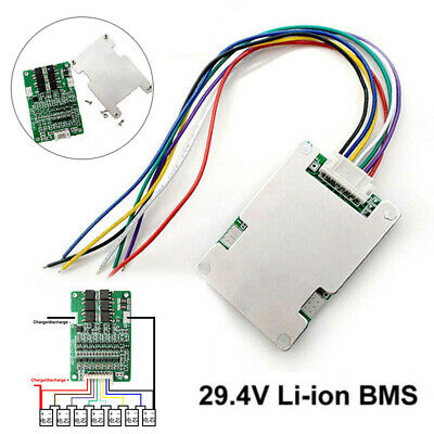 AU6.98 • Buy 29.4V 20A 7S Lithium Li-ion LiFePO4 Battery BMS Protection Board Cell Balance