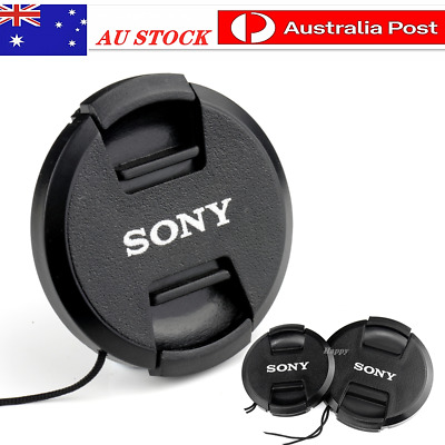 AU6.45 • Buy Sony Lens Cap 40.5mm, 49, 52, 55, 58, 62, 67,72, 77, 82mm For Replacement.