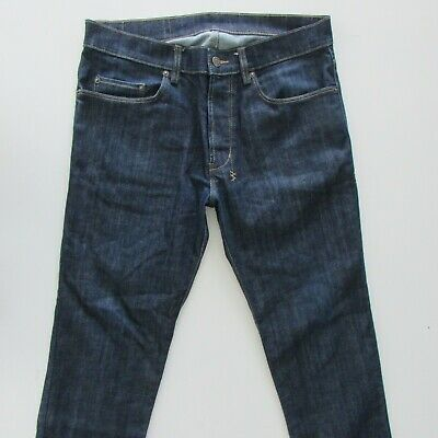 AU49.95 • Buy Ksubi Jeans Size W34 L30 Slim Fit Mens Blue Denim Button Fly