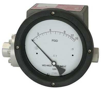 $784 • Buy MIDWEST INSTRUMENT 240-SC-02-O(JAA)-20P Pressure Gauge,0 To 20 Psi