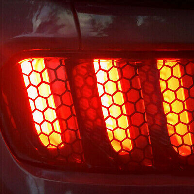 AU8.79 • Buy Car Rear Tail Light Honeycomb Sticker Taillight Lamp Cover Decal Accessories