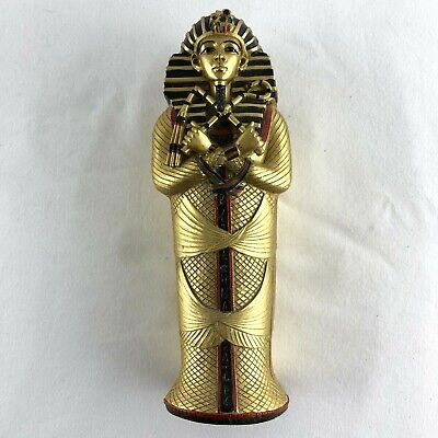 £14.99 • Buy Egyptian King Inside Sarcophagus Painted Box  Reproduction Ornament 21cm High
