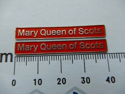 AU17.83 • Buy 37401 Mary Queen Scots. O Gauge Etched 7mm Scale Plates. Self Adhesive. Red B/g