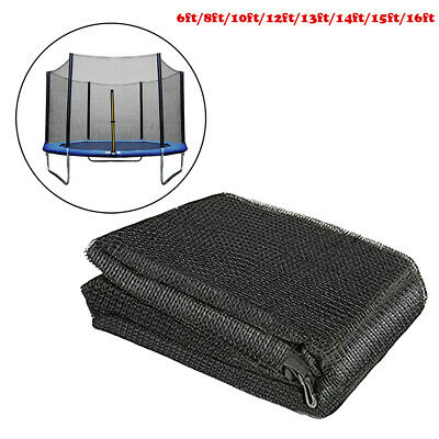 £71.22 • Buy Trampoline Replacement Safety Net Enclosure Surround Outside Netting Mesh Black