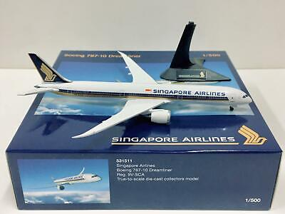 AU77.34 • Buy Herpa Wings Singapore Airlines Boeing 787-10 Dreamliner 1:500 9V-SCA 531511