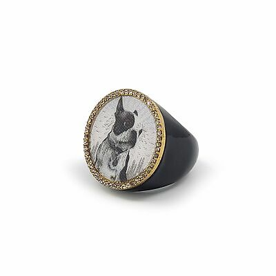 £25.38 • Buy Marc By Marc Jacobs Lenticular Rue Dog Statement Ring - M0002074