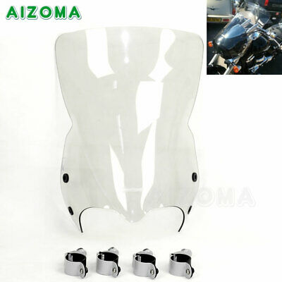 $159.99 • Buy Clear Motorcycle Front Windshield Windscreen For Suzuki Boulevard M50 M90 M109R
