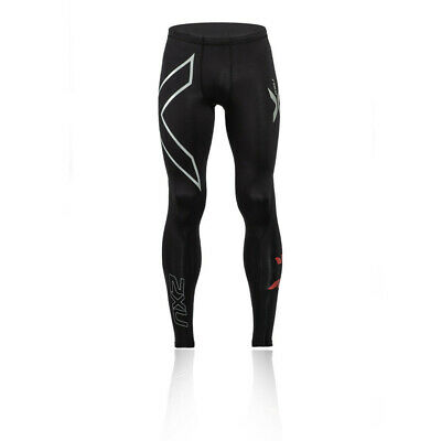 £43.99 • Buy 2XU Mens Compression Tights Bottoms Pants Trousers Black Red White Sports