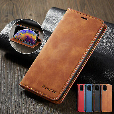 For Huawei P30 Lite P20 Mate 20 Pro Luxury Leather Wallet Flip Phone Case Cover • 5.89£