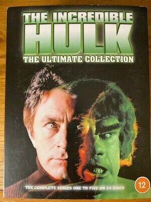 £28.95 • Buy The Incredible Hulk - The Ultimate Collection (24 Disc) [dvd] New & Sealed