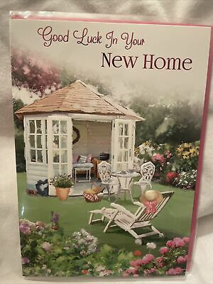 £1.29 • Buy New Home Card / Congratulations New Home Card / New House Cards - 4 Variations