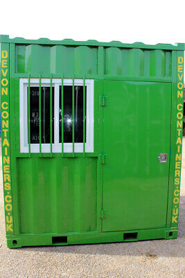 £2995 • Buy Mini Shipping Container -Office Container -Bike Garage -Security Shed -Lock Up
