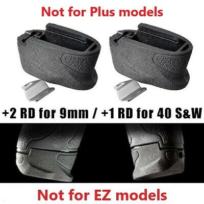 $12 • Buy S&W M&P Shield Magazine Extension +2 Rounds 9mm / .40 Cal - Mag Base Grip