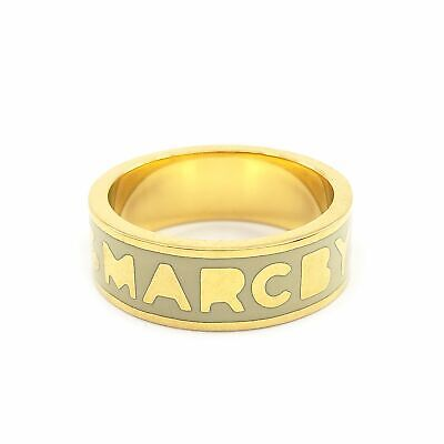 £21.72 • Buy Marc By Marc Jacobs Logo Disc Band Ring - M3PE573