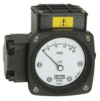 $545.99 • Buy MIDWEST INSTRUMENT 142-SA-00-O(AA)-20P Pressure Gauge,0 To 20 Psi