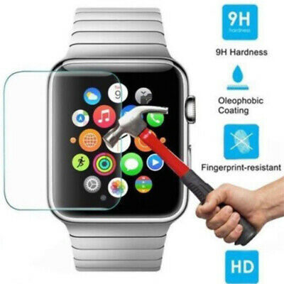 $ CDN2.46 • Buy Premium Tempered Glass Screen Protector For Apple Watch Series 5 4 3 2 1 38-44mm