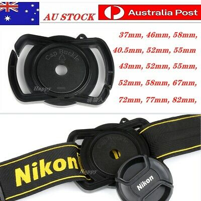 AU5.45 • Buy  Lens Cap Buckle Holder Keeper For Nikon Sony Canon DSLR Camera Anti Lost Button