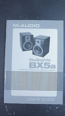 $4.99 • Buy M-Audio BX5a User Guide