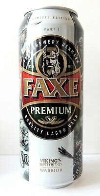 $ CDN24.17 • Buy EMPTY CAN! FAXE Beer Can First Edition Viking's Best Freind Warrior Part 1 50cl