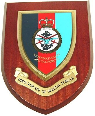Directorate Of Special Forces Sas Sbs Classic Hand Made Regimental Wall Plaque • 19.99£