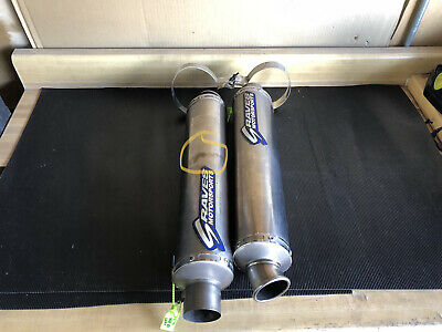 $525 • Buy 2004-2006 Yamaha YZF R1 Graves Dual Exhaust Pipe Muffler Slip On Exhaust
