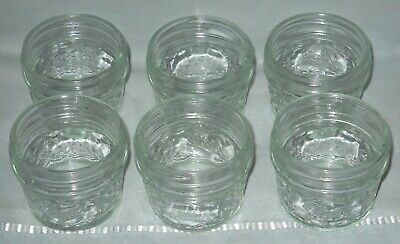$11.99 • Buy 6 Vintage Ball Quilted Canning Jelly Jars, 4 Oz, Excellent Size For Gift Giving!