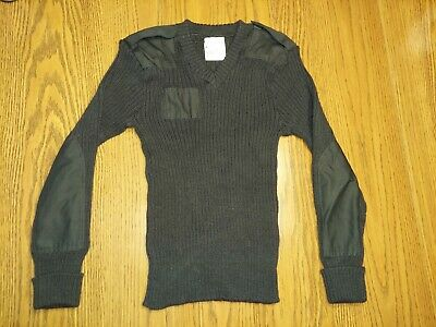$20 • Buy Brigade Quartermasters The Wooly Pully Sweater Black Wool England Size 40 M Mens