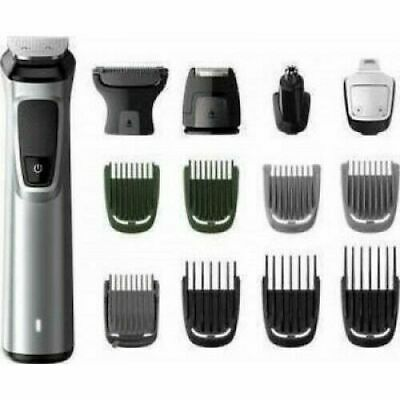 AU120.48 • Buy Philips MG7720/15 Black Silver SERIES 7000 Face Body Beard Trimmer 14 Tools