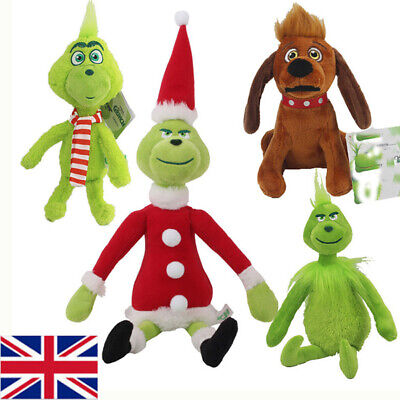 £6.19 • Buy How The Grinchs Stole Plush Stuffed Toys Christmas Grinch Max Dog Doll Soft UK